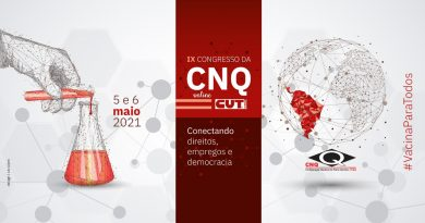 IX Congresso da CNQ-CUT começa quarta (5)